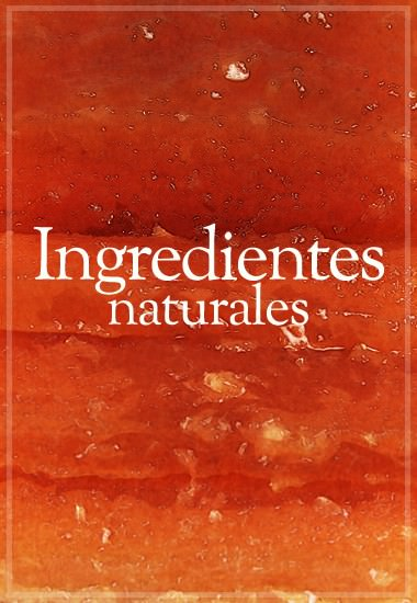 Ingresientes Naturales